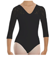 Intermezzo 3/4 Sleeve Leotard Bodyalblon (31260)